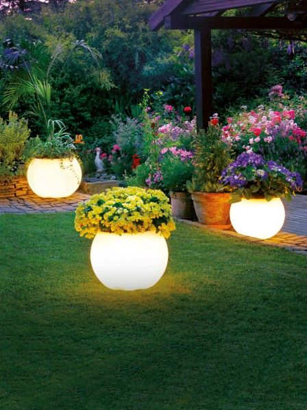 29 best Gartenbeleuchtung images on Pinterest Exterior lighting - schone garten fur sparsame