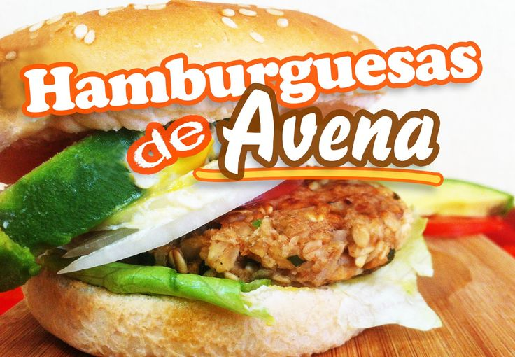 Hamburguesas de avena cena navidad y recetas veganas - Hacer hamburguesas vegetarianas ...