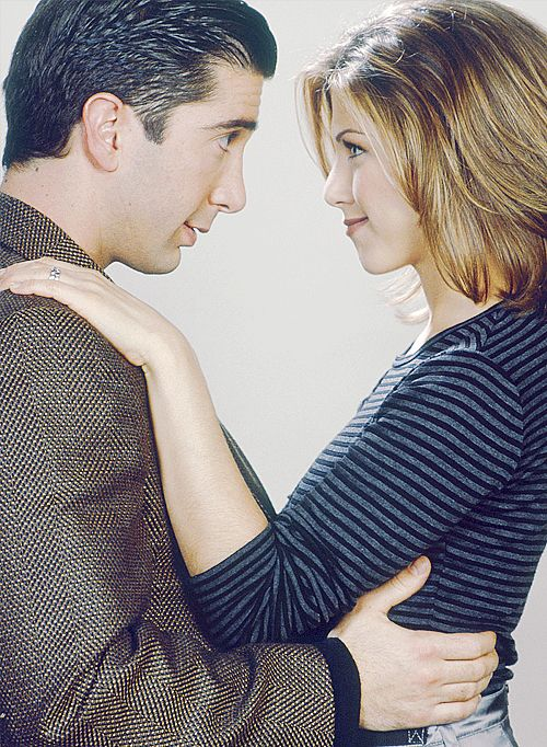 ross and rachel <3 because he's her lobster.