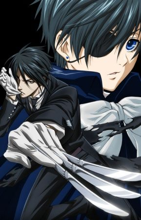 Black Butler, Kuroshitsuji, Ciel Phantomhive, Sebastian Michaelis, Ciel x Sebastian