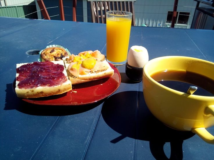 Brunch @ home after a great party