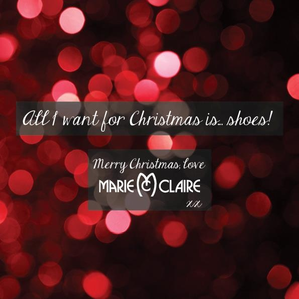 From the Maire Claire Shoes team