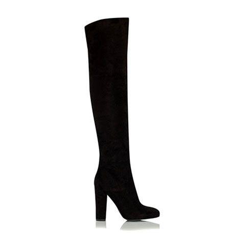 Billini Lara Black Vegan Suede Knee High Boots – Famous Rock Shop