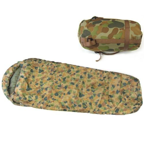 Caribee-Deploy-1300-Sleeping-Bag-camping-AUSCAM-DPCU-Cammo