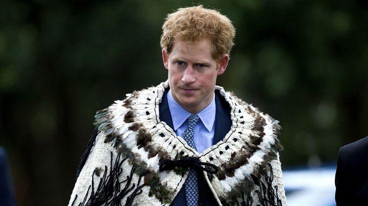 Príncipe Enrique de Gales, quinto en la línea de sucesión al trono británico. En la imagen durante su viaje oficial a Nueva Zelanda. (Fuente: AFP)