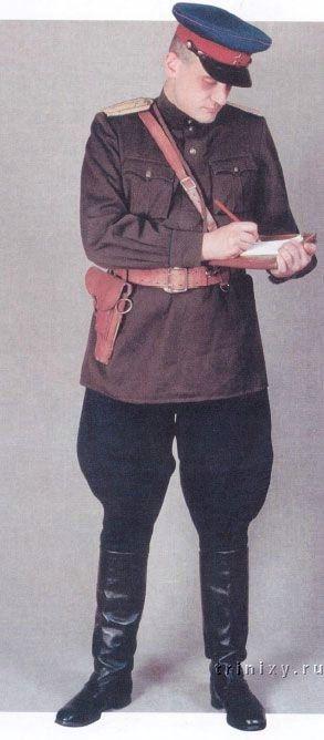 1943-1945 Soviet NKVD officers' summer service uniform.
