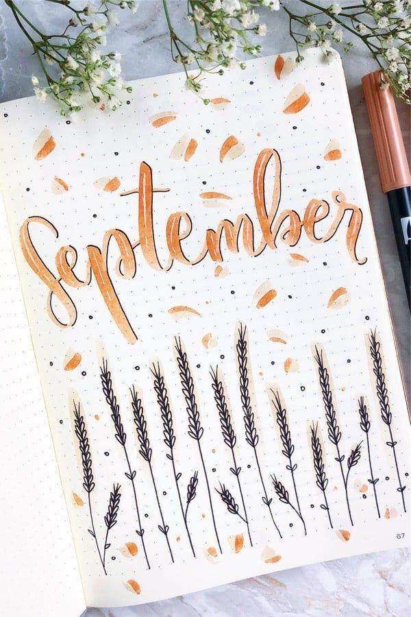 45+ Best September Monthly Cover Ideas For 2019