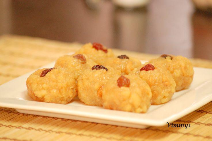 Ladoo (Kerala, Indian Recipe)