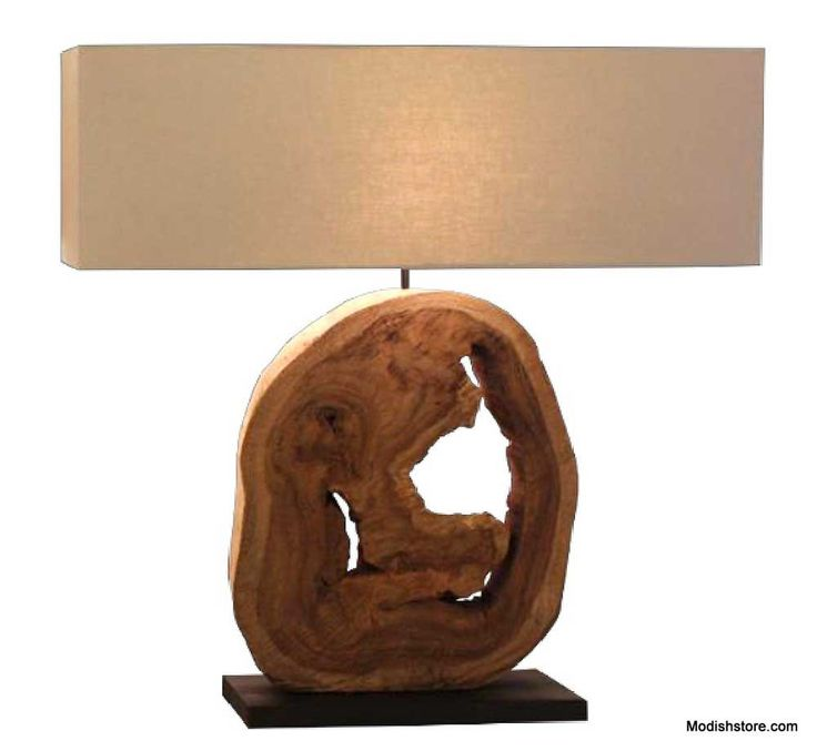 Modeco Drift Nature Table Lamp