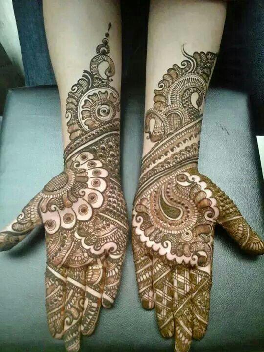Bridal Mendhi. Wedding henna