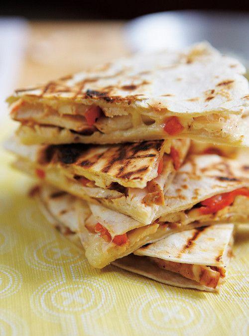 Quesadillas de poulet au Jack Daniel's Recettes | Ricardo