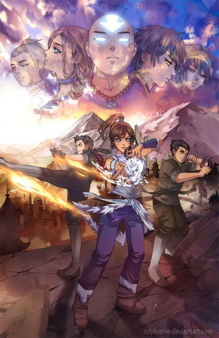 The Next Generation - Avatar - The Legend of Korra - by ~xDplushie on deviantART