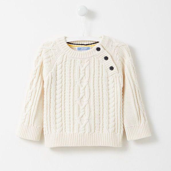 Pullover Jacadi stile irlandese