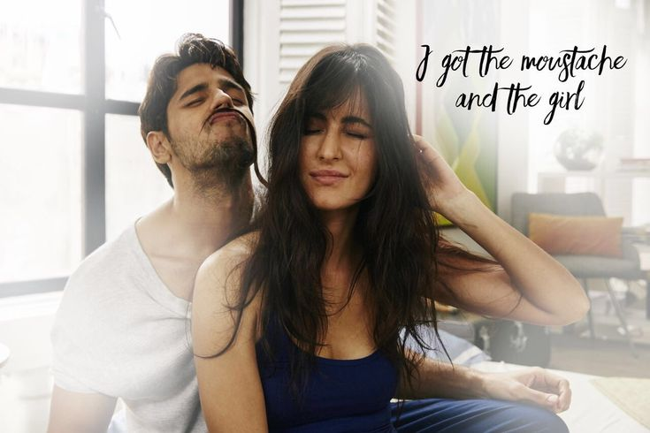 Baar Baar Dekho: Sidharth Malhotra gets a silky moustache thanks to Katrina Kaif