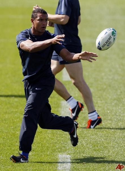 French rugby player Thierry Dusautoir