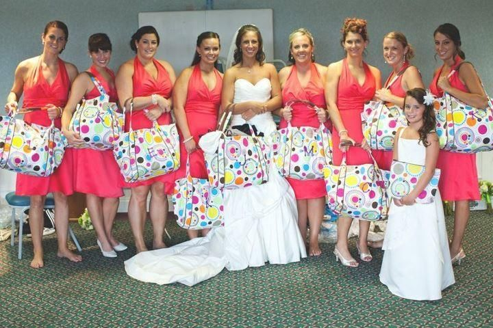 Ideas For Wedding Party Gifts Bridesmaids : Bridal Party Gift Ideas Wedding Pinterest