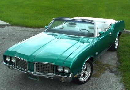 1972 Cutlass Supreme Convertible