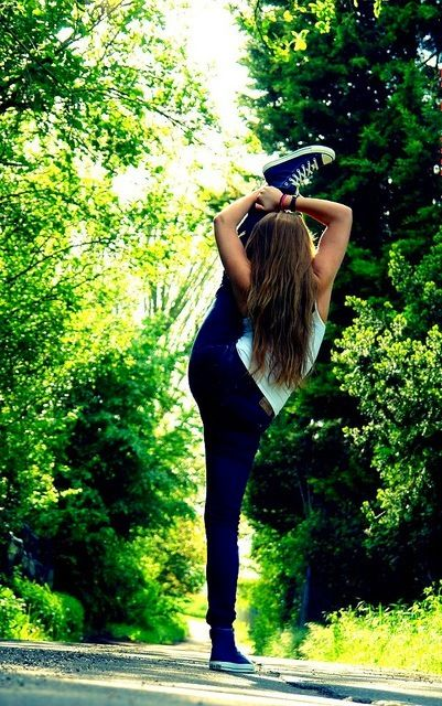 DANCE IS THE BEST SPORT THRRE IS