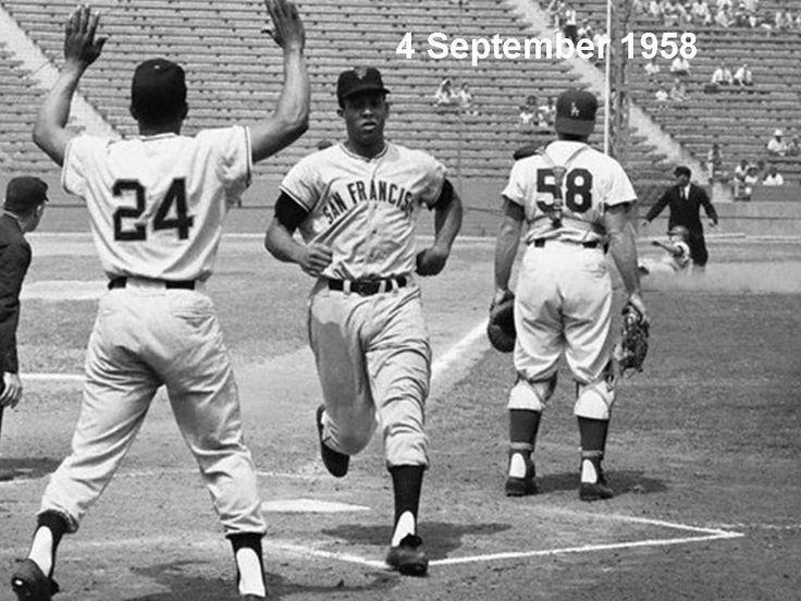 Willie Mays & Orlando Cepeda, 1958