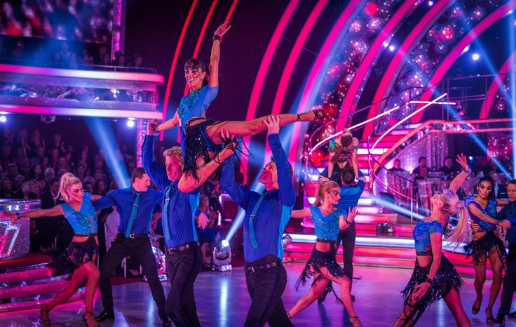 Strictly Come Dancing 2014: Week Four - Results Show - The Pro Dancers