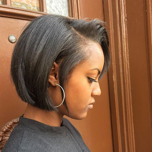 Easy Hairstyles For Medium Black Relaxed Hair : Hairstyles for black hair beautiful and type