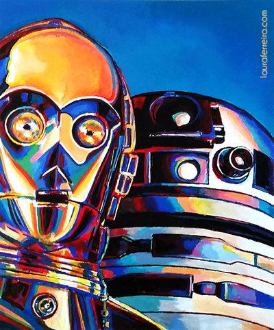 Droid Family Portrait by Laura-Ferreira