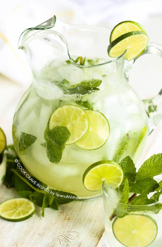 This classic mojito recipe is easy and refreshing! A fresh citrusy mint and lime cocktail is the perfect party drink to enjoy on the deck with…