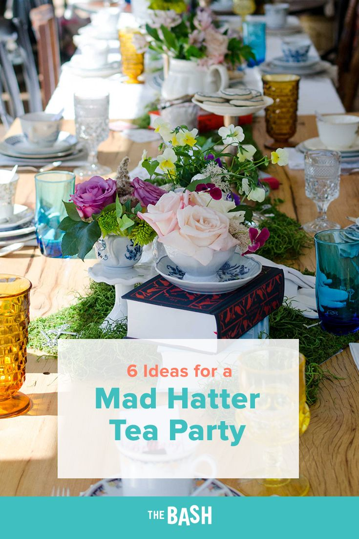 Mad Hatter Tea Party Theme Mad Hatter Tea Party Tea Party Theme