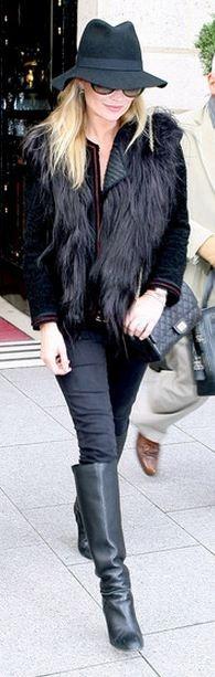 Street Style, Kate Moss /robinettekelly