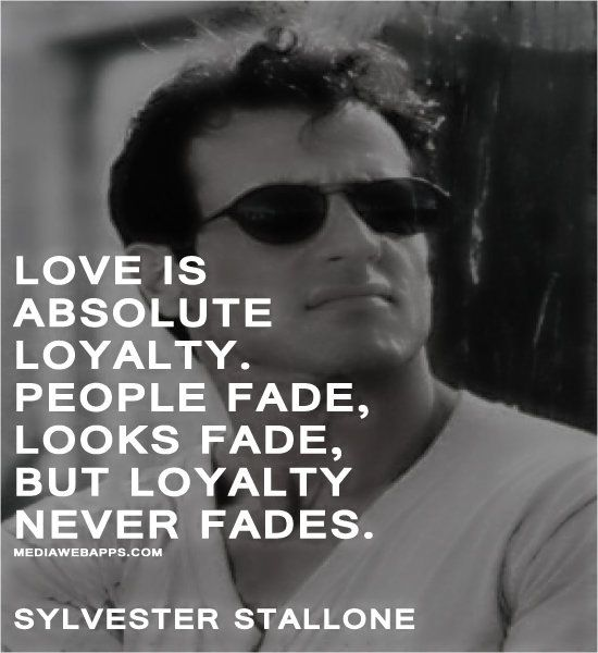 love quote by Sylvester Stallone Popular Quotes by celebrities and ...