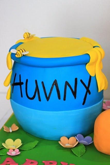 How To Make A Winnie The Pooh Hunny Pot Cake