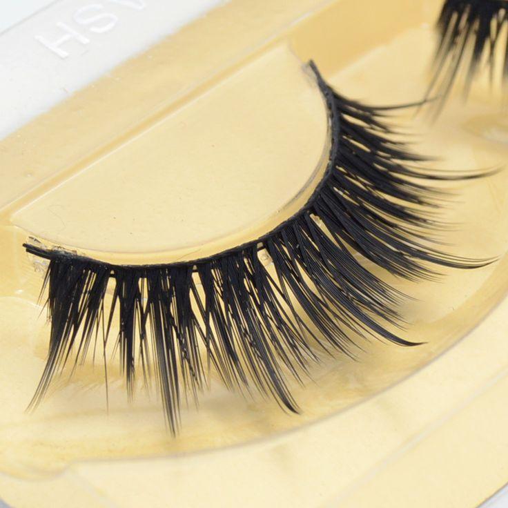 1 paire Vison Cils Main faux cils 3D bande vison cils épais faux faux cils Maquillage beauty #8A14