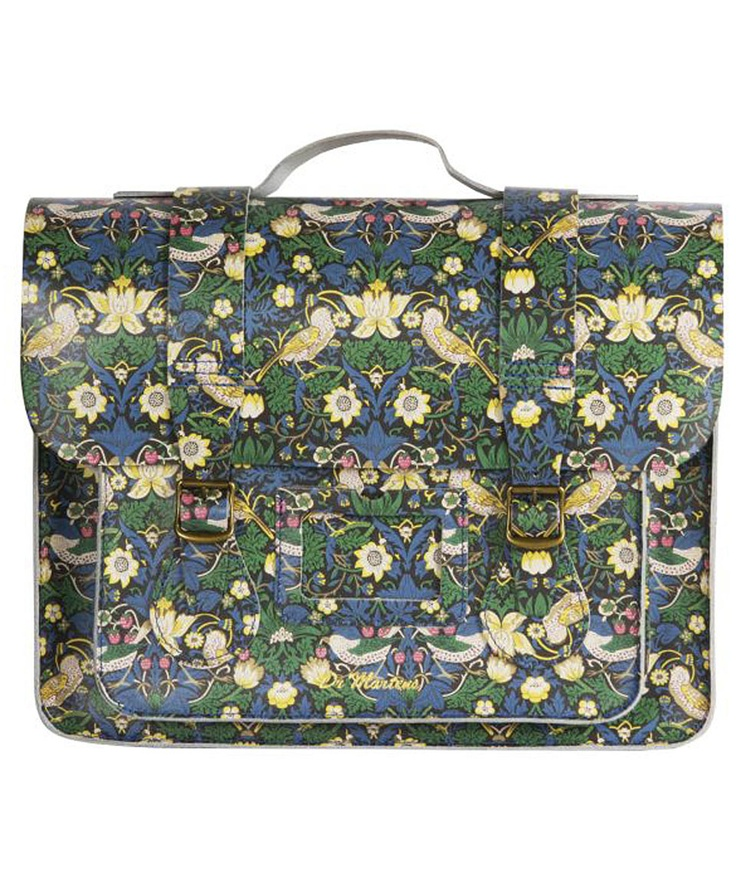 Large Strawberry Thief Liberty Print Satchel, Dr. Martens. Shop more from the Dr. Martens collection at Liberty.co.uk