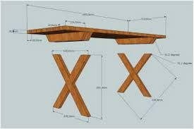 tuintafel steigerhout bouwtekening - Google zoeken