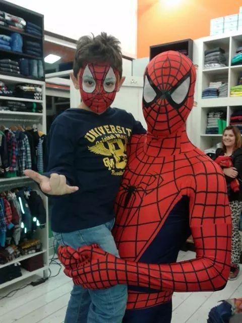 Spiderman e Spiderman Jr!!! www.multiservizinnovativi.com