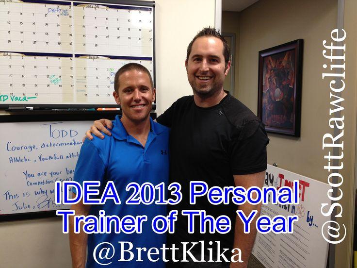 2013 IDEA Personal Trainer of the Year Brett Kilka