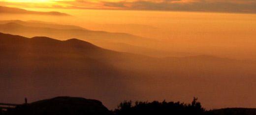 Pôr do Sol na Serra da Estrela