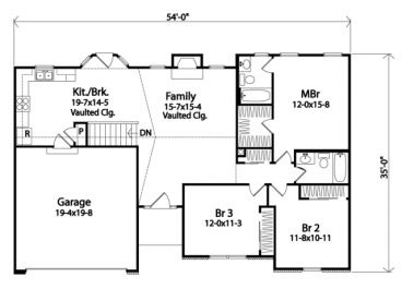 41 best home floor plans images on pinterest architecture floor ranher malvernweather Gallery