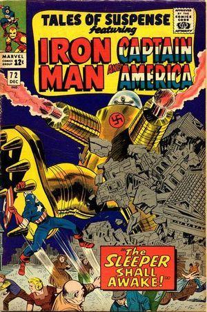 Tales of Suspense 72. Por Jack Kirby #CapitánAmérica #TalesOfSuspense #JackKirby