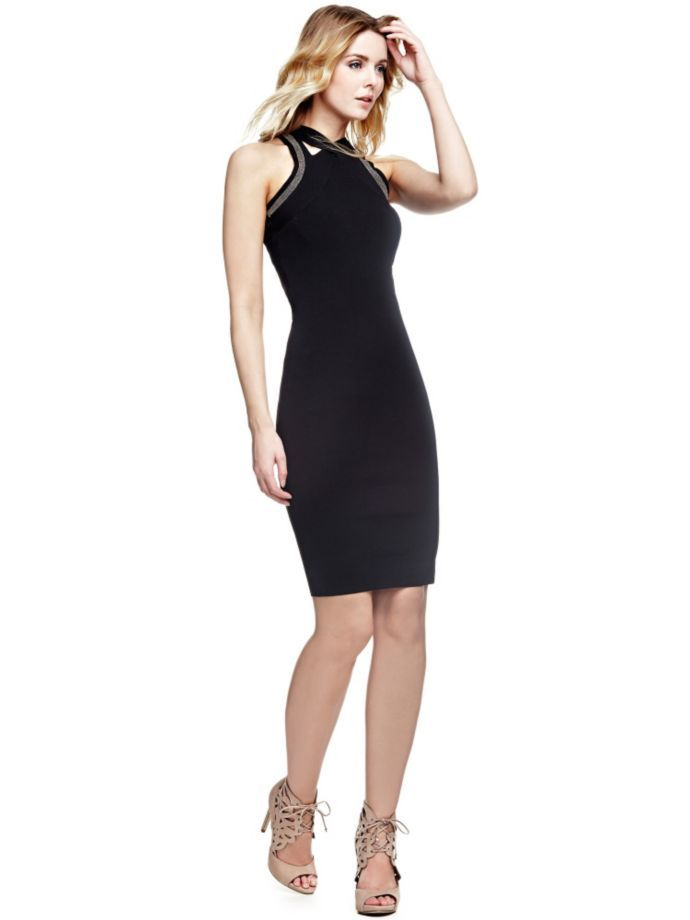 EUR119.90$  Buy here - http://viacl.justgood.pw/vig/item.php?t=9uo0alq17654 - CROSSOVER DRESS EUR119.90$