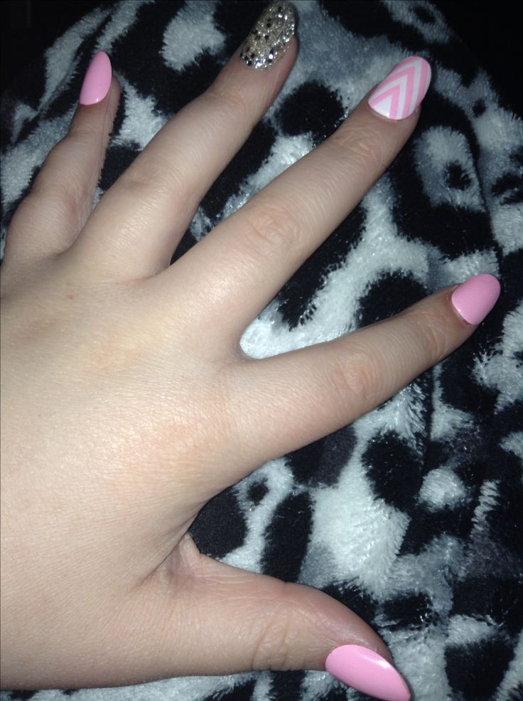 These nails were so cute and fun