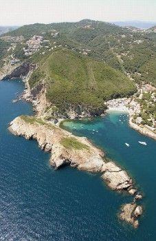Sa Tuna and Punta des Plom. Costa Brava. Girona province, Catalonia.