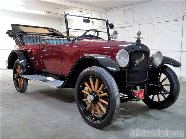 1921 Hupmobile Touring Model Vintage Cars Antique Cars Classic Cars