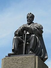 Jomo Kenyatta - A statue of Kenyatta at the KICC in Nairobi Wikipedia, the free encyclopedia