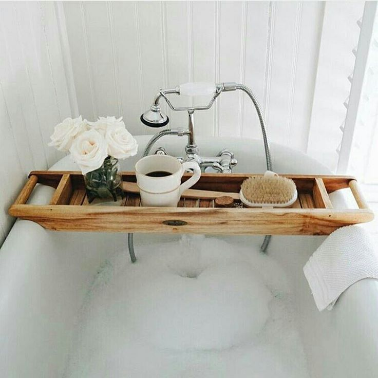What I wouldn't give to have a tub like this to soak in.