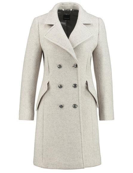 Elegancki wełniany płaszcz image