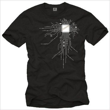 "T-Shirt Geek ""GAMER CPU"" @IndependenceGeek"