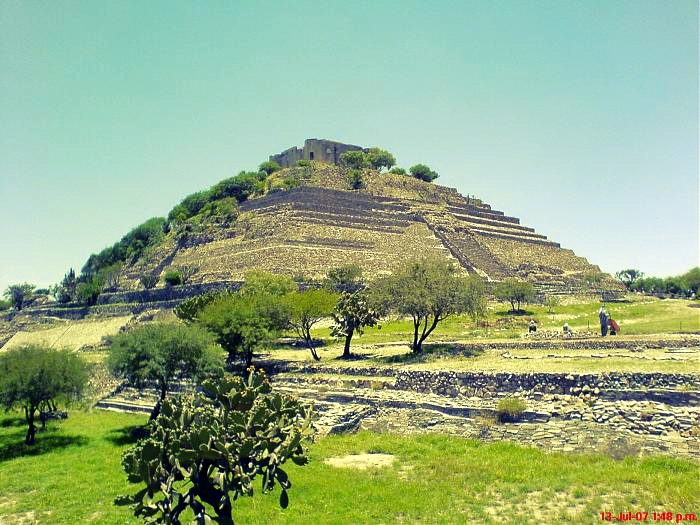 Piramide del Cerrito, El Pueblito, Corregidora Querétaro, México: Mexico, Mexico Lindo
