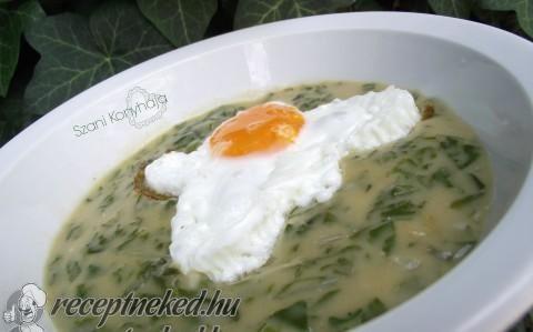 Mángold főzelék recept fotóval