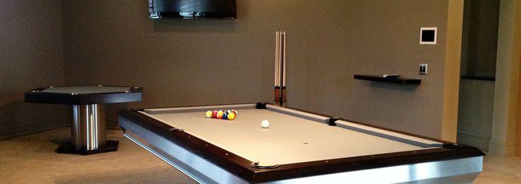 #billiard #table Mitchell Pool Tables Chrome Pool Tables Metal Pool Tables Modern Pool Tables